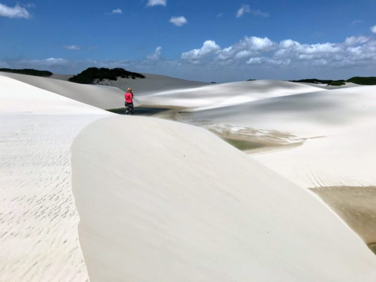 Clear Pools in the Sand Dunes of Lençóis Maranhenses National Park the Most beautiful place in the world