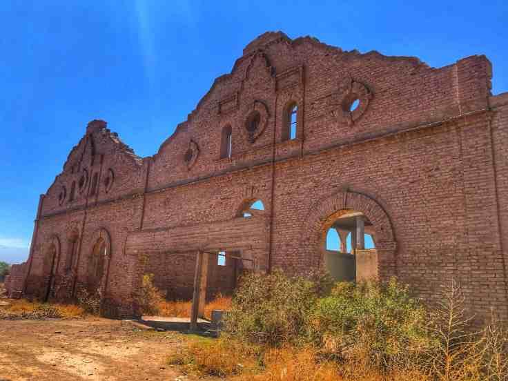 Facade of an Old Bodega in Mendoza