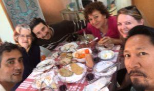 Friends in Mendoza