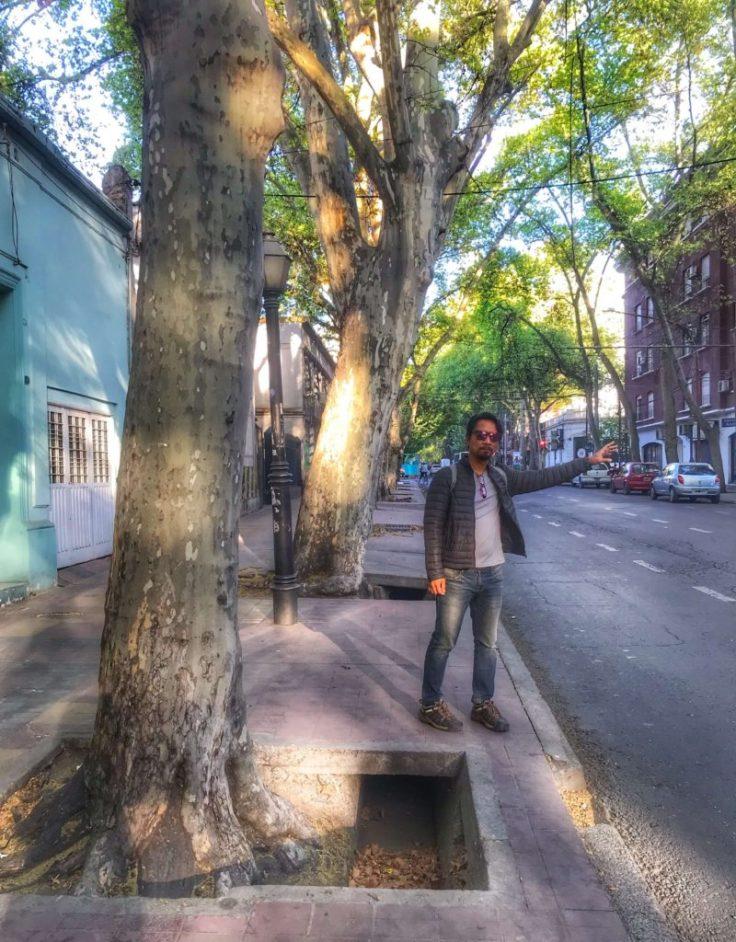 Canal in Mendoza