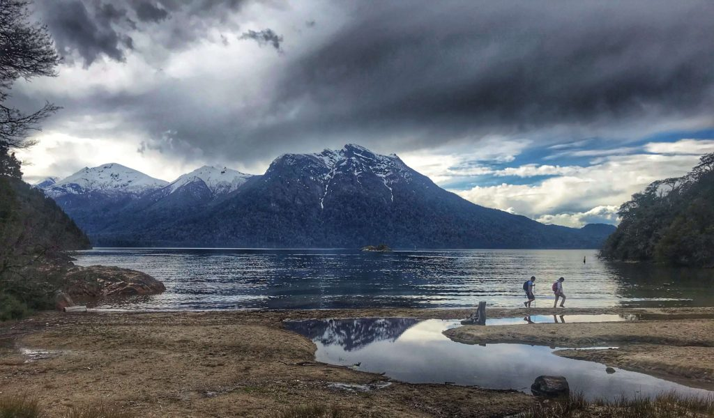 Lake near Bariloche Argentina