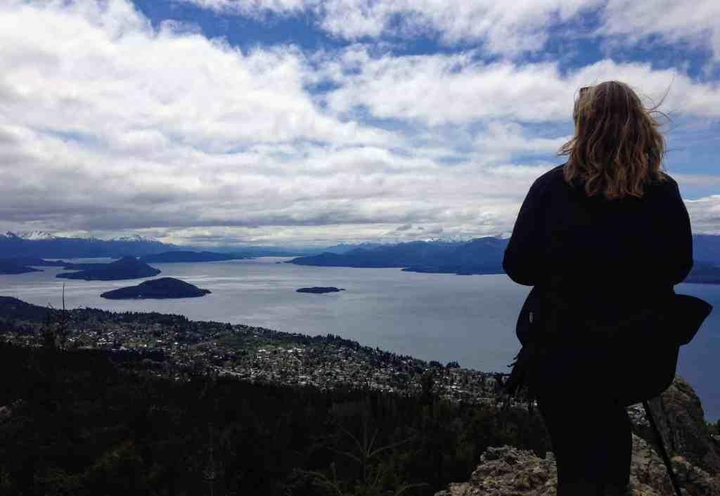 Bariloche on the shore of Nahuel Huapi Lake