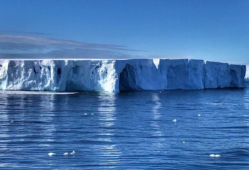Massive Iceberg in Antarctica