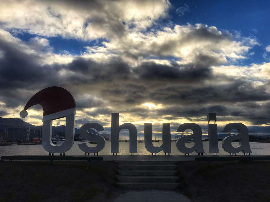 "Ushuaia, ""The end of the world"" at the bottom of the Patagonia region"
