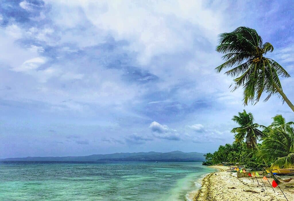 One of the Siquijor Island beaches