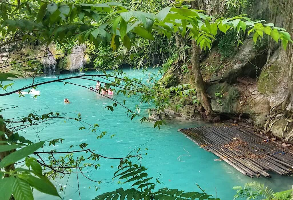 swimming hole on Siquijor