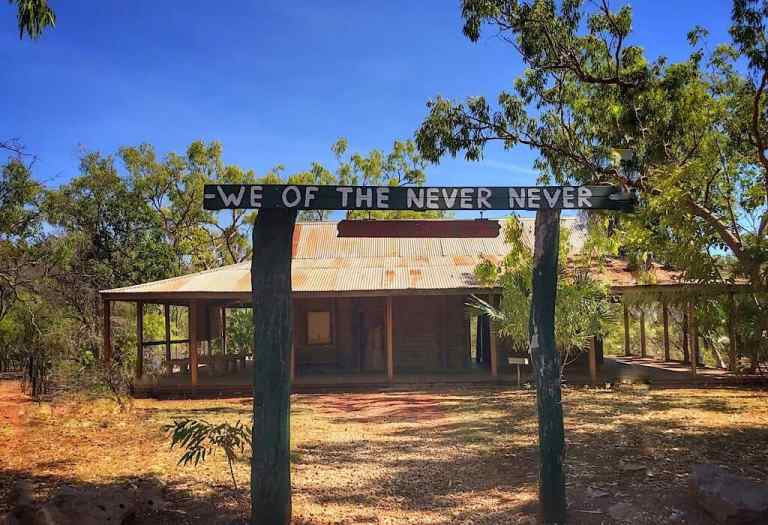 The Elsey Homestead from the movie We of the Never Never