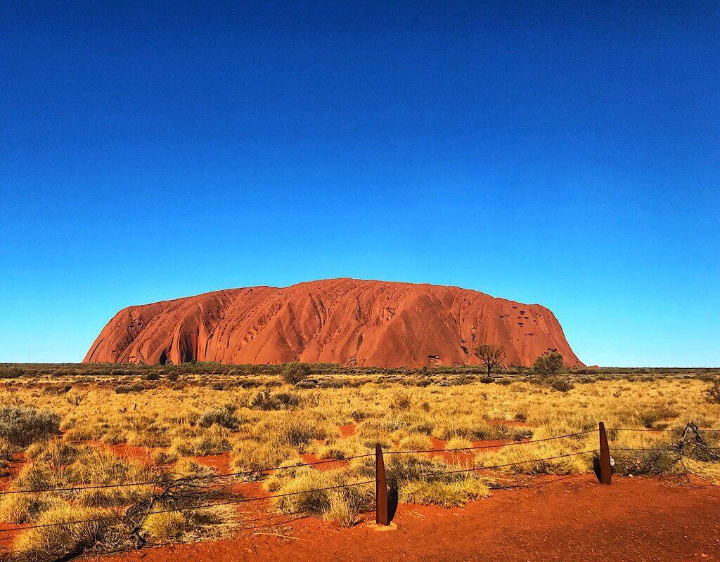 Uluru in full sun, Northern Territory