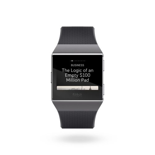 Apps for Fitbit: NYTimes