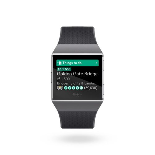Apps for Fitbit: TripAdvisor