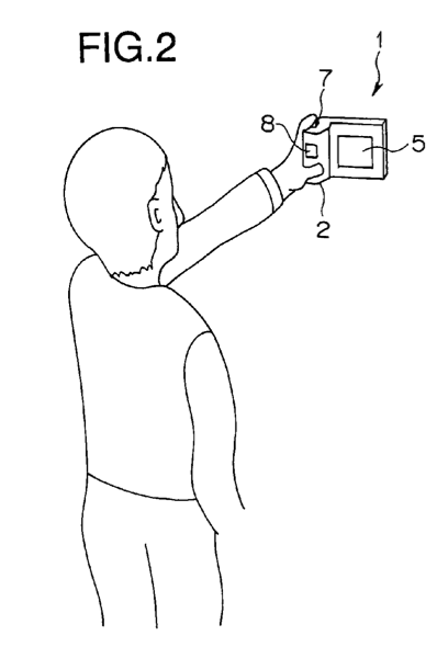 Olympus patent discloses a new L-shaped camera with eye