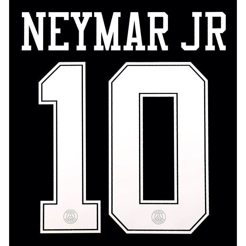 2018 19 psg paris ucl third jordan x shirt neymar jr 10 official player issue size name number set