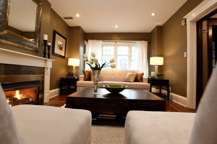 Living Room Staging Photos  Kansas City Real Estate