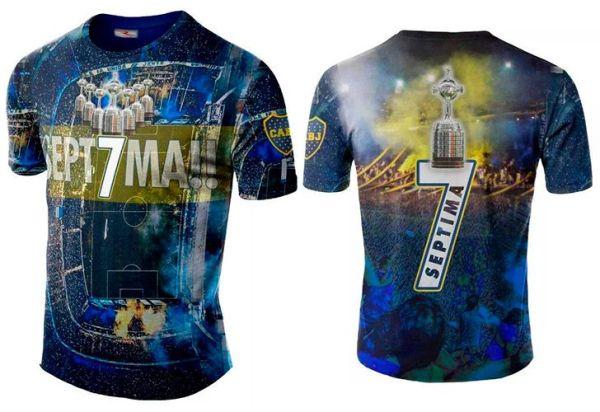 Salió a la venta la camiseta de Boca campeón de la Copa Libertadores