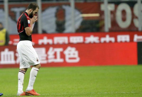 Higuaín se disculpó tras su expulsión ante Juventus