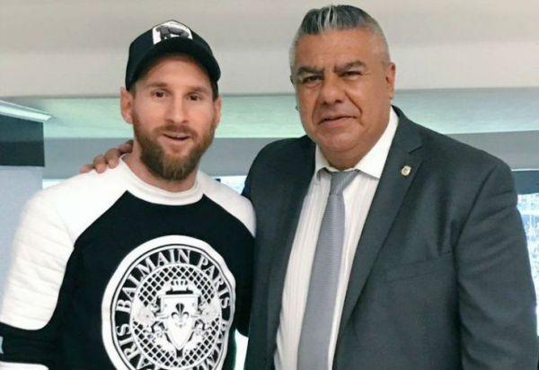 """Chiqui Tapia: """"Messi nunca se fue de la Selección"""""""