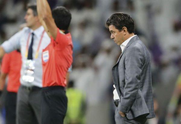 """Gallardo, pese a la derrota: """"El festejo tiene que seguir"""""""