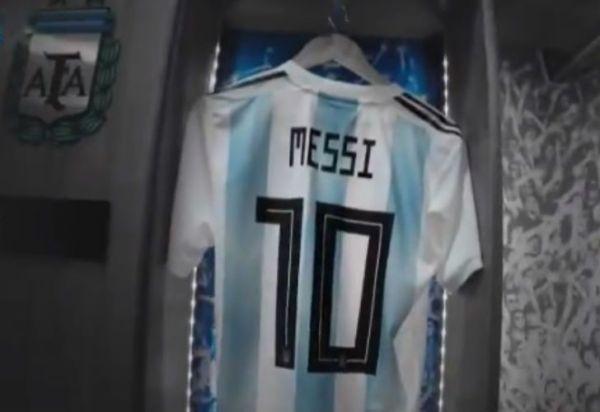 La Selección Argentina celebró la vuelta de Messi con un video especial