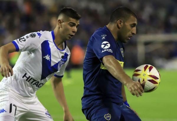 Vélez y Boca empatan en la ida por los cuartos de final