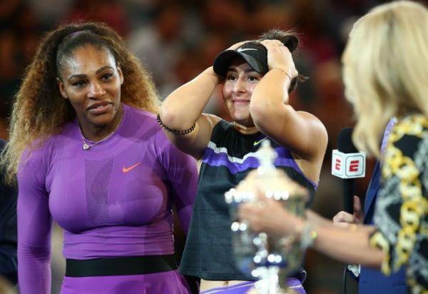 Bianca Andreescu, la joven prodigio que arruinó el récord histórico de Serena Williams
