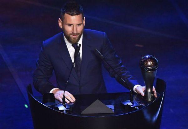 Lionel Messi es por primera vez The Best