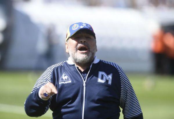 """Maradona recargado: """"No me estoy muriendo para nada"""""""