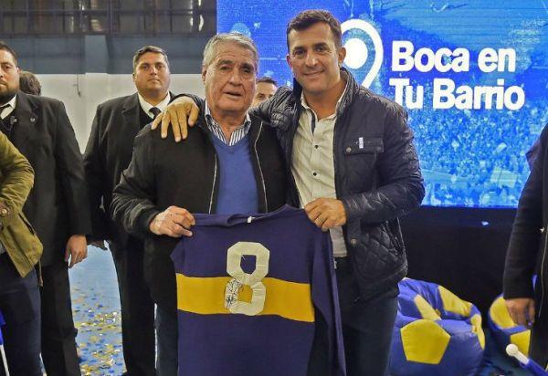 "El ídolo de Boca que desafió a Riquelme: ""Conmigo no tiene chances"""