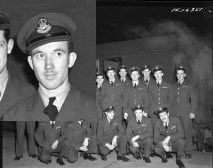 Squadron photo Jan 1944 Ivor Williams