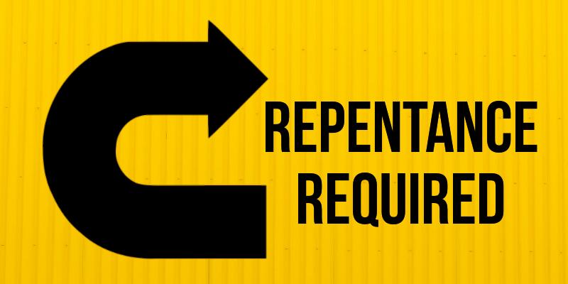 Repentance Required – Averine Pennington