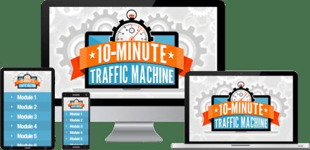 10 Minute Traffic Machine