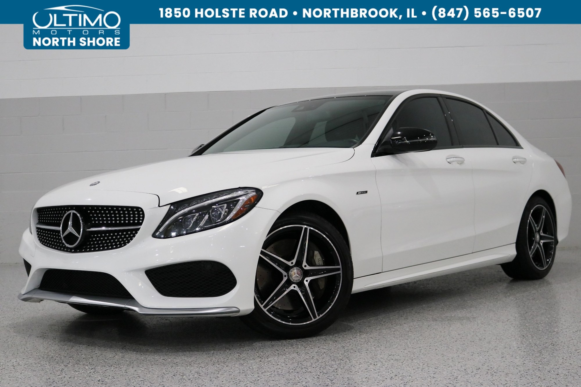hight resolution of pre owned 2016 mercedes benz c class c 450 amg