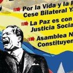 El pueblo en la calle exige paz con democracia y justicia social