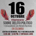 II Seminario sobre Delito Político y Situación de los Presos Políticos