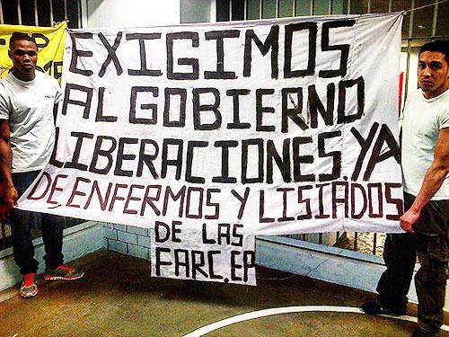 Protesta-presos-politicos-DDHH