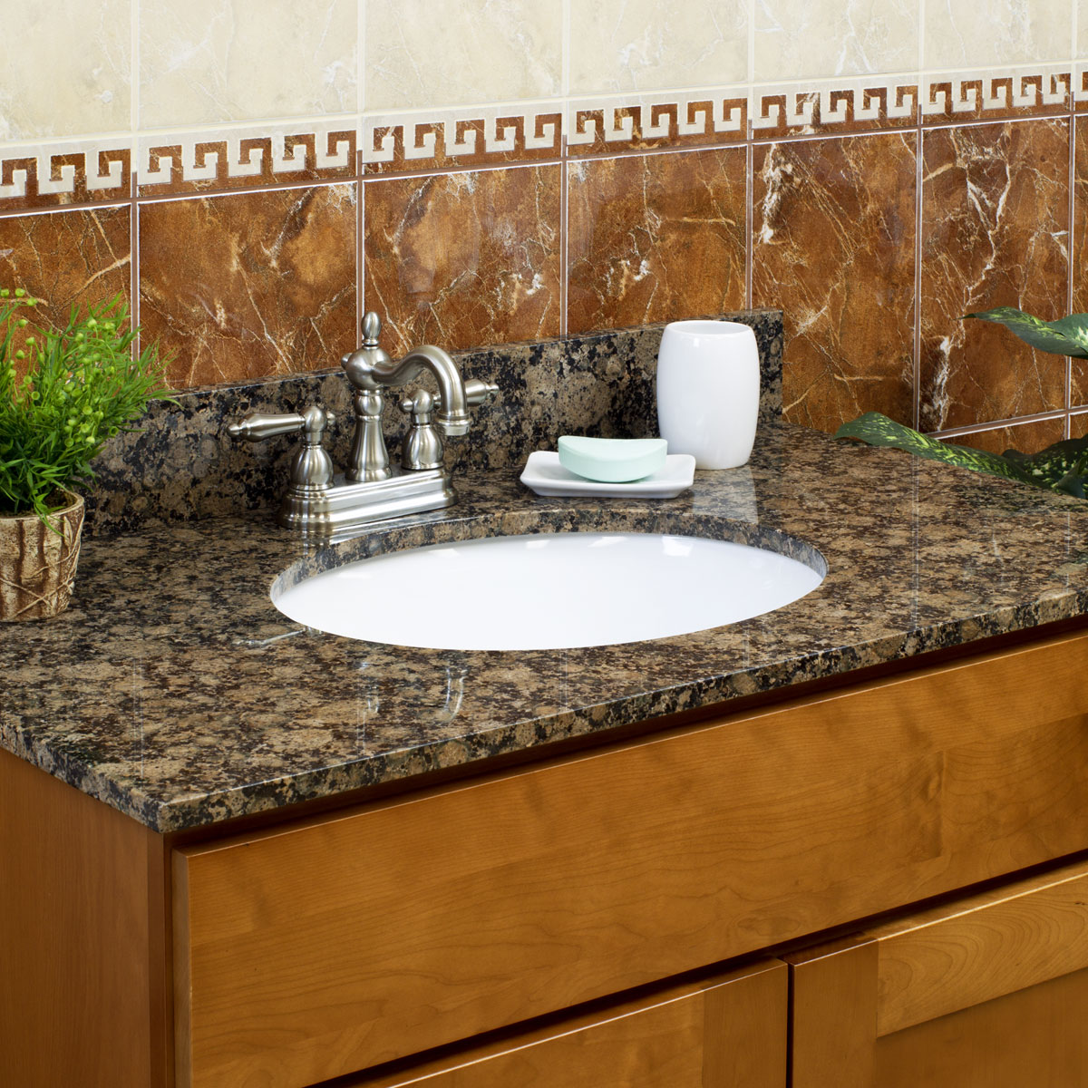 48 kitchen sink base cabinet fridge lesscare newport quot bathroom maple vanity