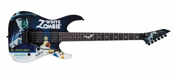 ESP Kirk Hammett Signature White Zombie Graphic Electric Guitar