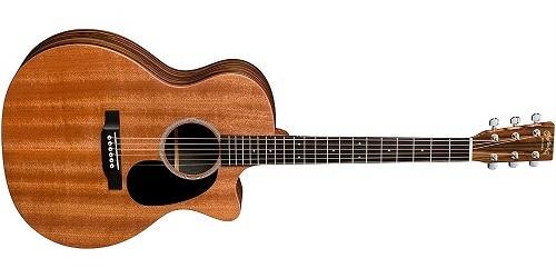 Martin X Series GPCX2AE Macassar Grand Performance Acoustic-Electric Guitar Natural