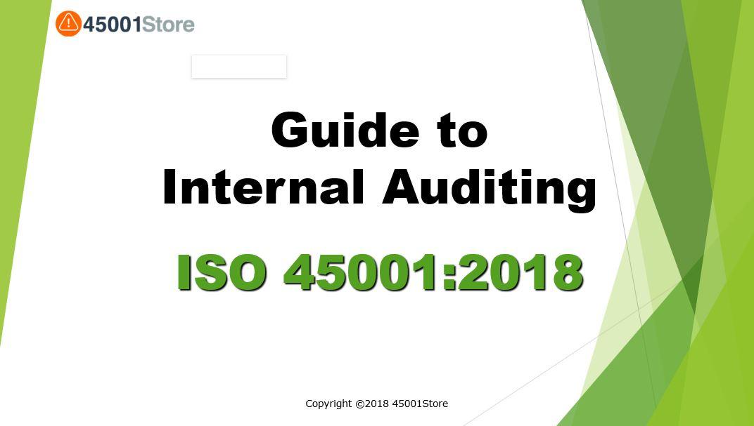 ISO 450012018 Internal Audit Checklist  ISO 45001 Store