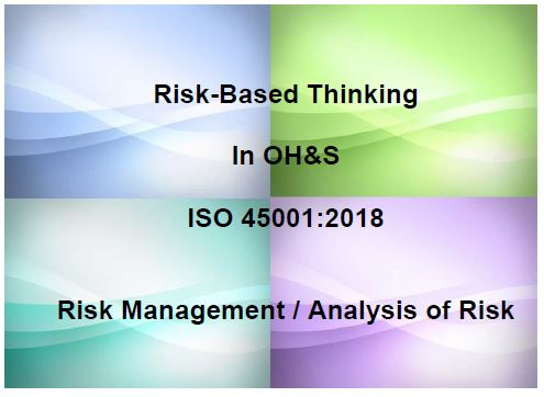 ISO 45001 Risk Management Exercise ISO 45001 Store