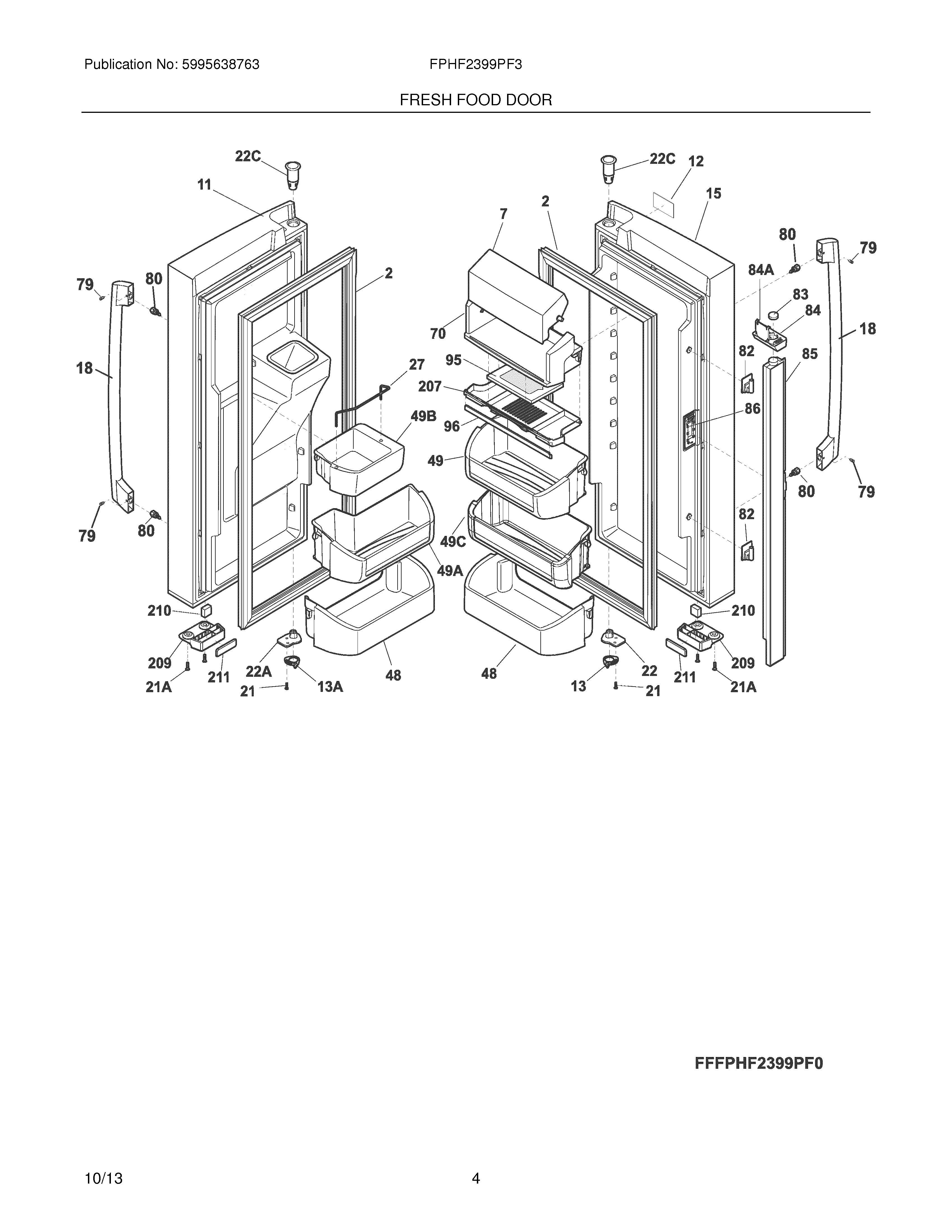 whirlpool gold refrigerator parts diagram paxton door access wiring ice maker dispenser get free