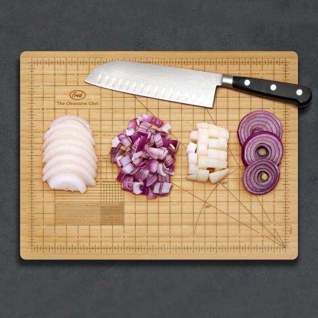 The Obsessive Chef Bamboo Cutting Board