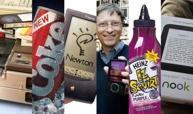 Ideas and famous product flops