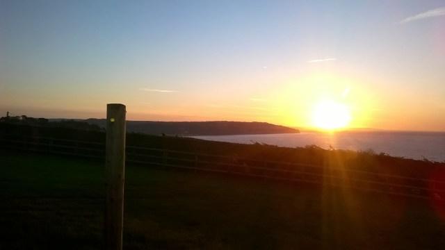 Hooken Cliffs Sunrise