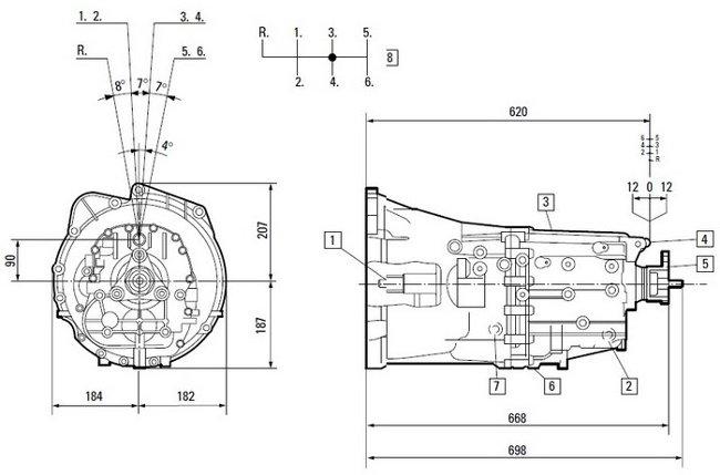 Коробка передач ZF GS6-53 BZ/DZ