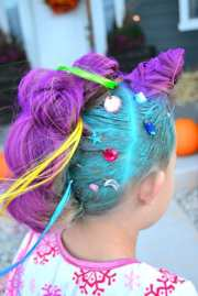crazy hair day idea dragon