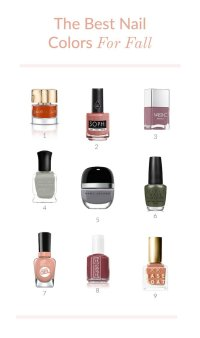 The Best Nail Colors For Fall | Glitter Guide