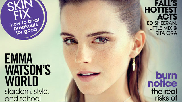 Emma Watson Talks Fame In Teen Vogue