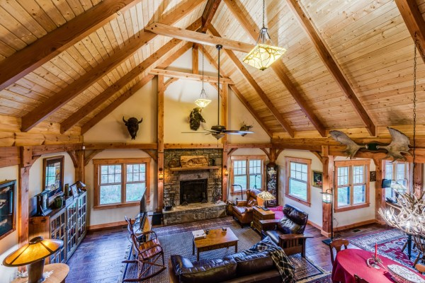 Timber Frame Package Contents Honest Abe Log Homes