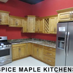 Kitchen Cupboard Jamaica Waterstone Annapolis Faucet Bathroom Cabinets And Vanities In Exotic Stones Spice Maple