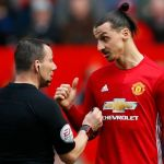 Manchester-Uniteds-Zlatan-Ibrahimovic-speaks-with-referee-Kevin-Friend Foreign News Sports